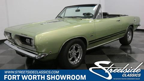 1968 Plymouth Barracuda for sale in Fort Worth, TX