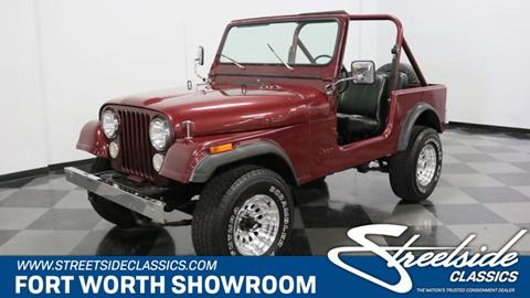 1982 Jeep CJ-7 for sale in Fort Worth, TX