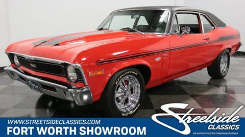 1970 Chevrolet Nova for sale in Fort Worth, TX