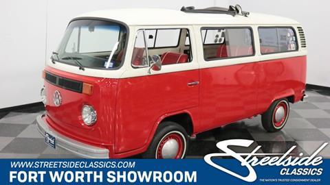 1975 Volkswagen Bus for sale in Fort Worth, TX