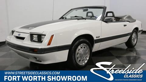 1985 Ford Mustang for sale in Fort Worth, TX