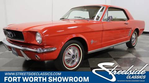 1966 Ford Mustang for sale at Streetside Classics in Fort Worth TX