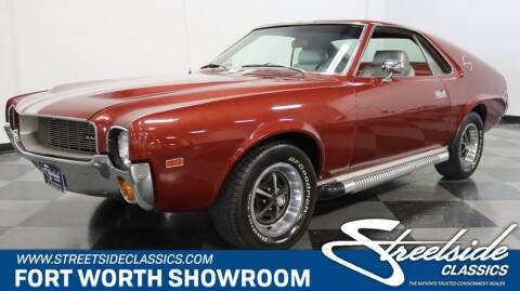 1968 AMC AMX for sale at Streetside Classics in Fort Worth TX