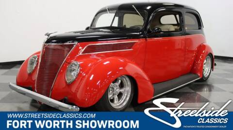 1937 Ford Tudor for sale at Streetside Classics in Fort Worth TX