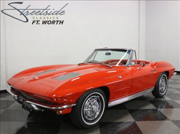 1963 Chevrolet Corvette for sale in Fort Worth, TX