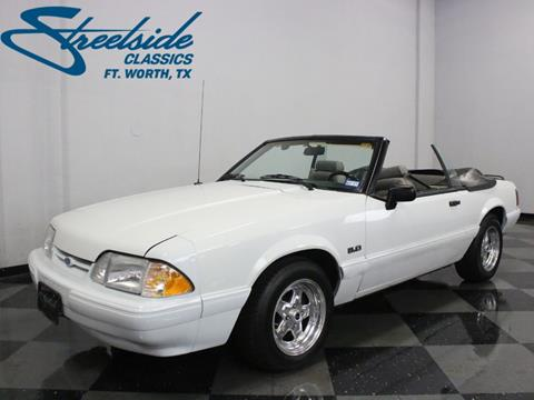 1991 Ford Mustang for sale in Fort Worth, TX