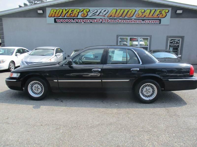 1999 Mercury Grand Marquis >> 1999 Mercury Grand Marquis Ls 4dr Sedan In Dubois Pa Royers 219