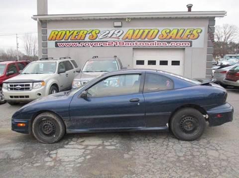 2002 Pontiac Sunfire for sale in Dubois, PA
