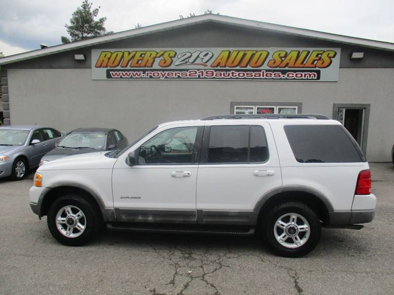 Ford Explorer Dr XLT WD SUV In Dubois PA ROYERS AUTO - 2002 explorer