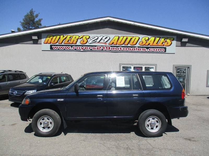 2002 Mitsubishi Montero Sport ES 2WD 4dr SUV   Dubois PA