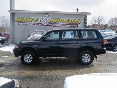 2002 Mitsubishi Montero Sport for sale in Dubois, PA