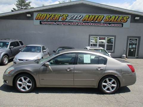 Superior 2006 Nissan Maxima For Sale In Dubois, PA