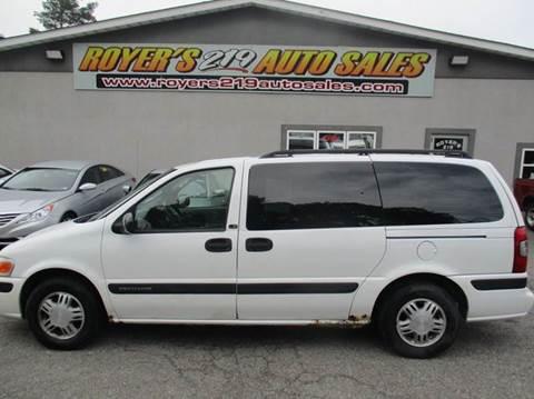 2004 Chevrolet Venture for sale in Dubois, PA