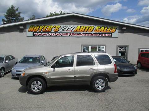2001 Mazda Tribute for sale in Dubois, PA