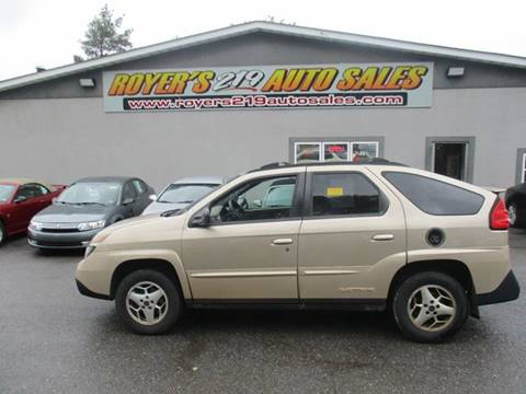 2003 Pontiac Aztek for sale in Dubois, PA