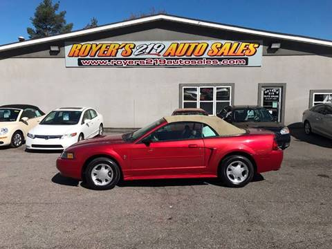 2001 Ford Mustang for sale in Dubois, PA