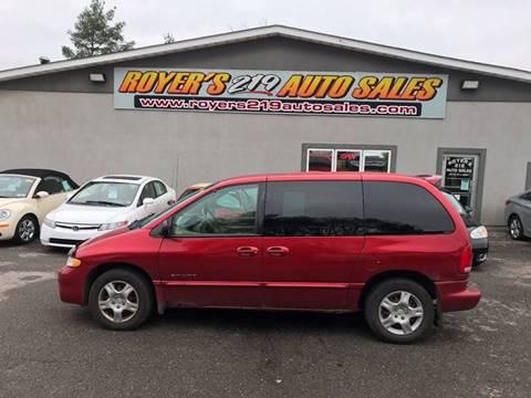 2000 Dodge Caravan for sale in Dubois, PA