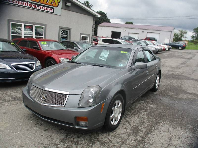 2004 Cadillac Cts 4dr Sedan In Dubois PA - ROYERS 219 AUTO SALES