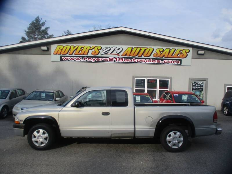 1998 Dodge Dakota 2dr Extended Cab Sb In Dubois Pa Royers 219 Auto