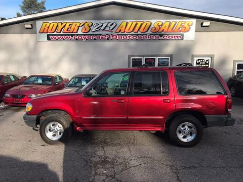 2000 Ford Explorer for sale in Dubois, PA
