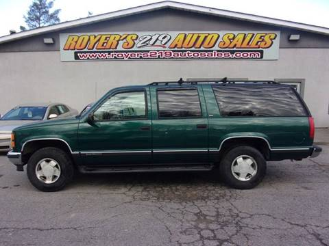 1999 GMC Suburban for sale in Dubois, PA