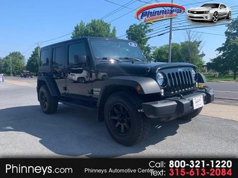 2016 Jeep Wrangler Unlimited for sale in Clayton, NY