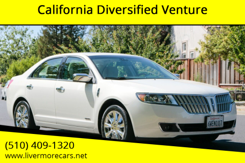 2012 Lincoln MKZ Hybrid for sale at California Diversified Venture in Livermore CA