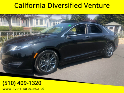 2014 Lincoln MKZ for sale at California Diversified Venture in Livermore CA