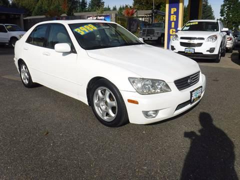 2001 Lexus IS 300 for sale in Milwaukie, OR