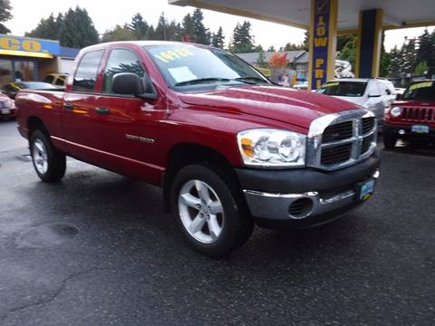 2007 Dodge Ram Pickup 1500 for sale in Milwaukie, OR