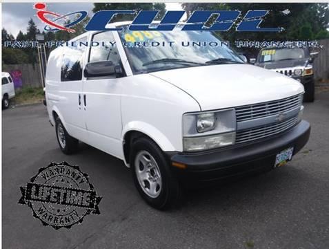 Chevrolet Astro Cargo For Sale In Oregon Carsforsale Com
