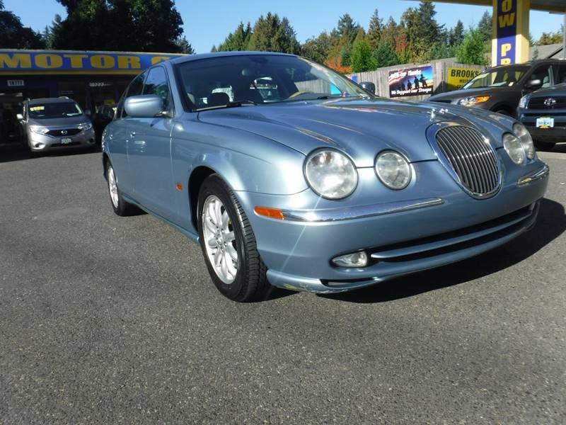 2002 Jaguar S Type 4.0 4dr Sedan   Milwaukie OR