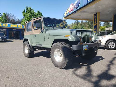1993 Jeep Wrangler for sale in Milwaukie, OR