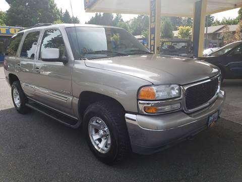 2000 GMC Yukon for sale in Milwaukie, OR