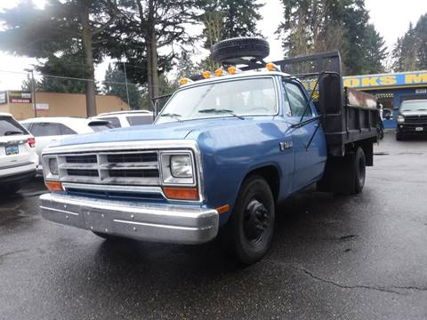 1989 Dodge RAM 350