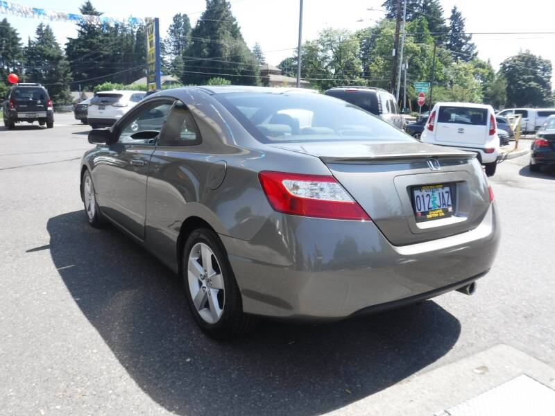 2008 Honda Civic EX 2dr Coupe 5A - Milwaukie OR