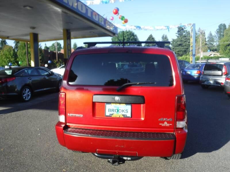 2008 Dodge Nitro SXT 4dr SUV 4WD - Milwaukie OR