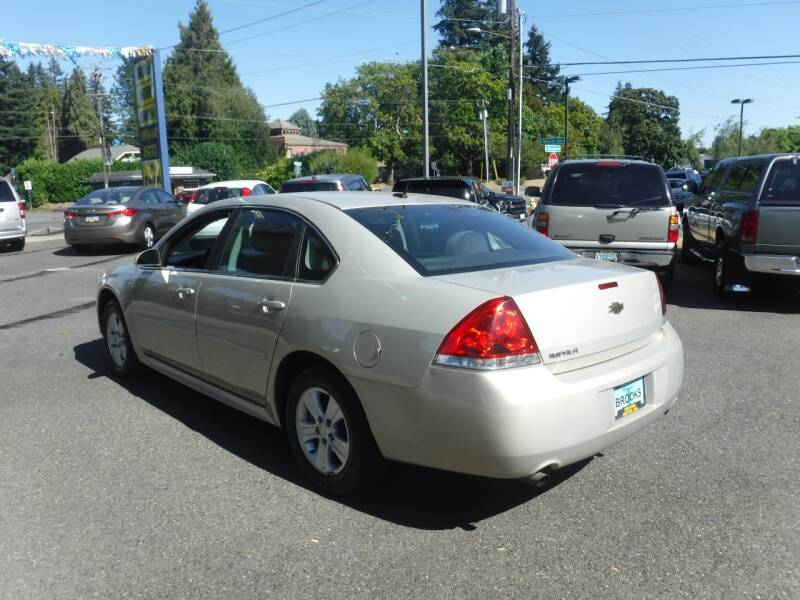 2012 Chevrolet Impala LS Fleet 4dr Sedan - Milwaukie OR