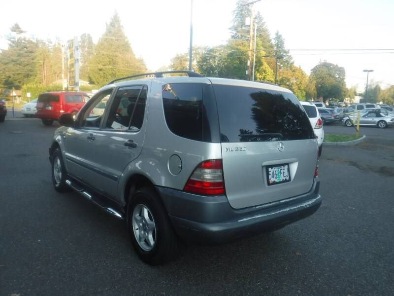 1999 Mercedes-Benz M-Class AWD ML 320 4MATIC 4dr SUV - Milwaukie OR