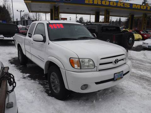 2003 Toyota Tundra for sale in Milwaukie, OR