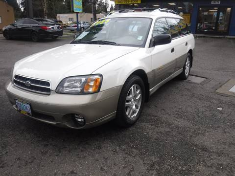 2003 Subaru Outback for sale in Milwaukie, OR