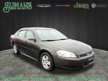 2009 Chevrolet Impala for sale in Amherst, OH