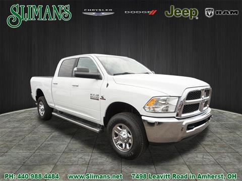 2017 RAM Ram Pickup 2500 for sale in Amherst, OH