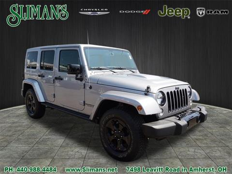 2015 Jeep Wrangler Unlimited for sale in Amherst, OH