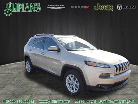 2015 Jeep Cherokee for sale in Amherst, OH
