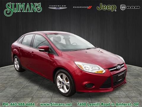 2014 Ford Focus for sale in Amherst, OH