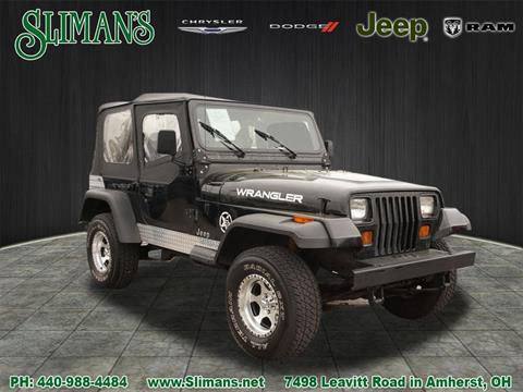 1990 Jeep Wrangler for sale in Amherst, OH