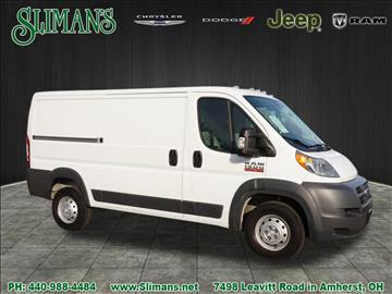 2015 RAM ProMaster Cargo for sale in Amherst, OH