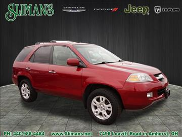 2004 Acura MDX for sale in Amherst, OH