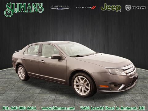 2011 Ford Fusion for sale in Amherst, OH